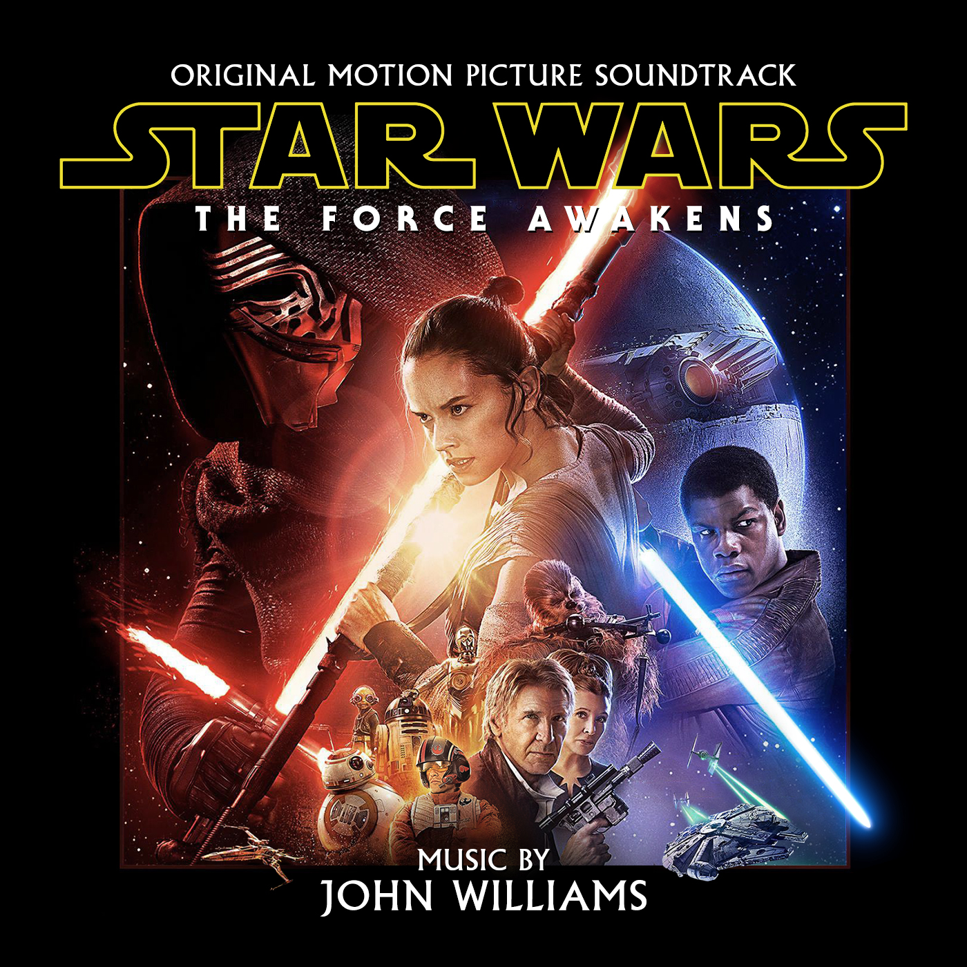 Star Wars The Force Awakens By John Williams Hqcovers
