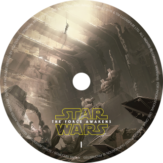 #40: Star Wars: The Force Awakens (Custom)