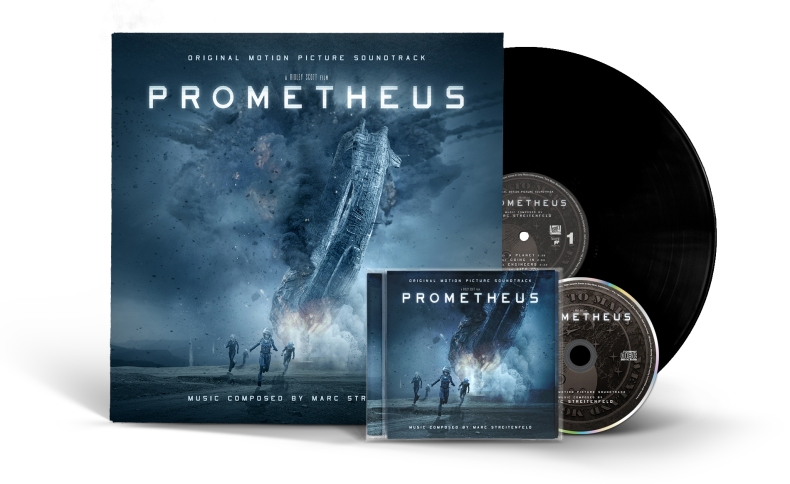 Prometheus (Vinyl/CD Mockup)