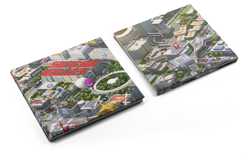 Silicon Valley (Digipack Mockup)