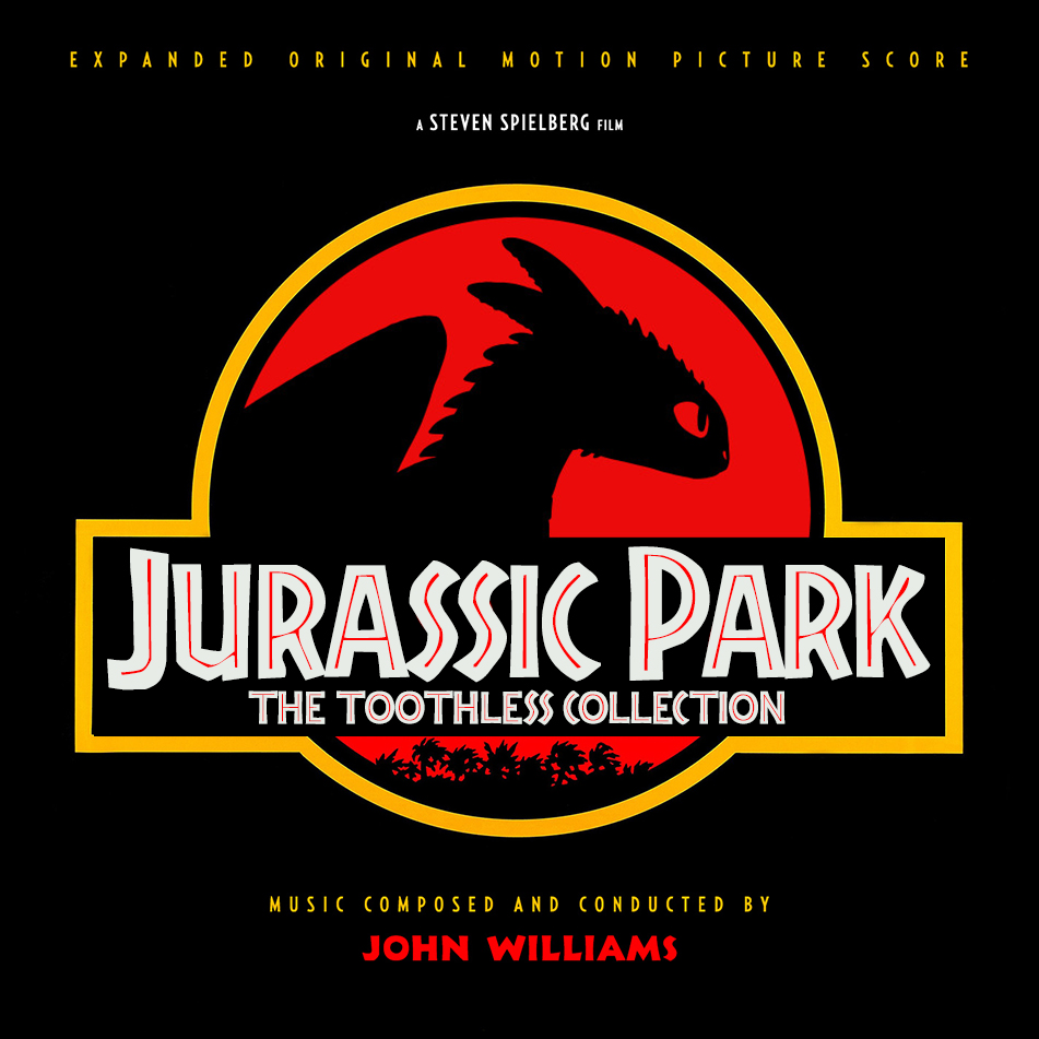 "Fantastic Jurassic Park"" by John Williams – HQCovers BB32"