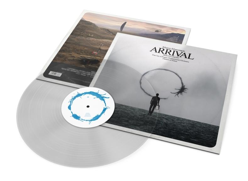 Arrival (Vinyl Version Mockup)
