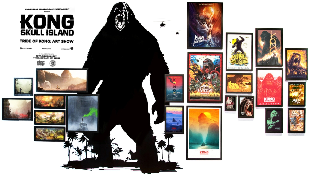 Kong skull island soundtrack on cd - Warner Bros And Legendary Pictures Ordered A Wide Array Of Artworks And Creative Agencies Like By B O N D Concept Arts Or Little Giant Studios
