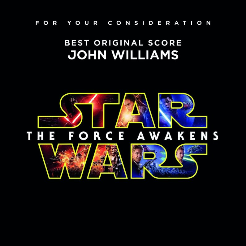 Star Wars: The Force Awakens (Best Original Score Consideration Album)