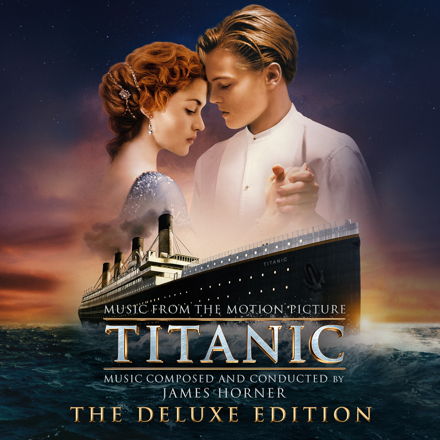 """Titanic Movie: """"Titanic (The Deluxe Edition)"""" By James Horner"""