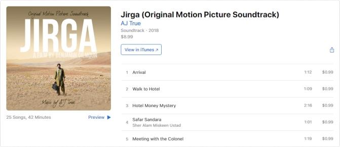 Jirga (iTunes)